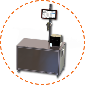 manual aggregation module with handheld barcode scanner for aggregation